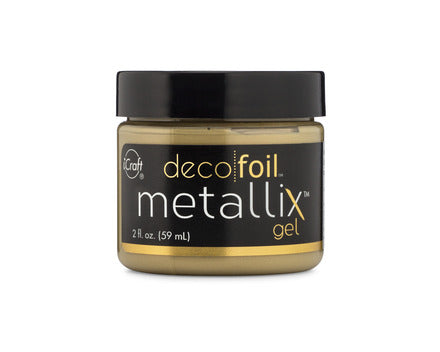 Deco Foil Metallix Gel 2oz - Pure Gold