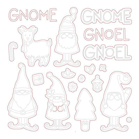 Gnome Place Like Home Honey Cuts
