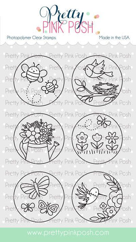 Spring Circles Stamp Set