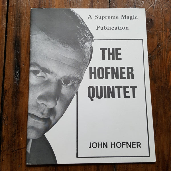 The Hofner Quintet - John Hofner - Kaymar Magic