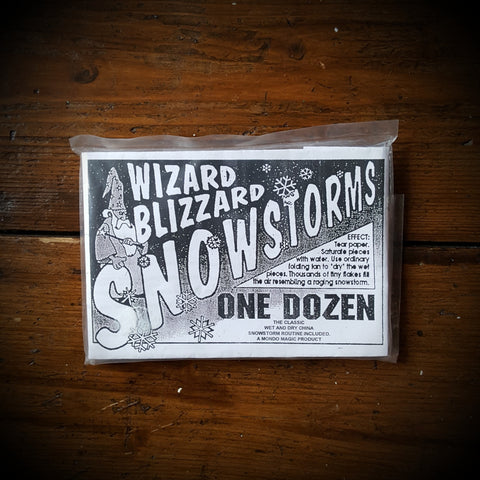 Wizard Blizzard Snowstorms - Kaymar Magic