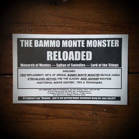 The Bammo Monte Monster Reloaded by Bob Farmer - Kaymar Magic