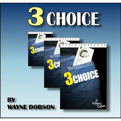 3 Choice by Wayne Dobson and Heinz Minten