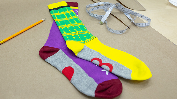 Socks by Michel Huot and Vanishing Inc