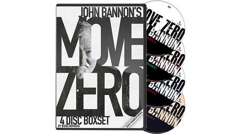 Move Zero Box Set by John Bannon - Four DVDS! - Kaymar Magic