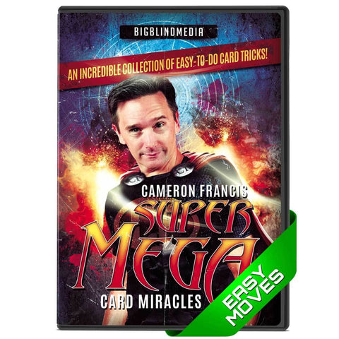Super Mega Cards Miracles - Cameron Francis - Kaymar Magic