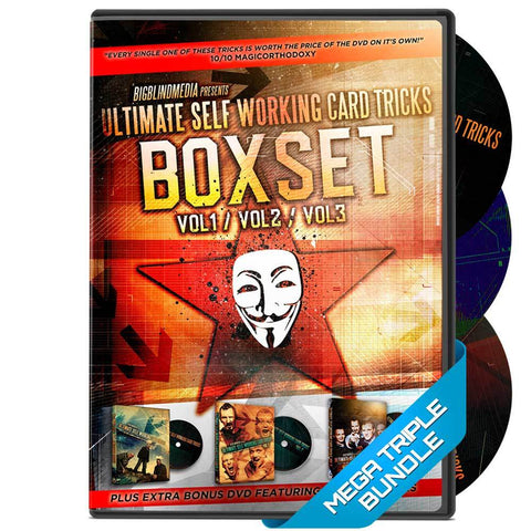 Ultimate Self Working Card Tricks DVD Box Set! - Kaymar Magic