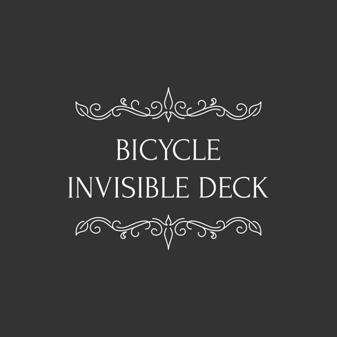 The Invisible Deck - Bicycle Stock - Kaymar Magic