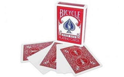 Bicycle Red Back Blank Face Deck - USPCC - Kaymar Magic
