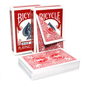 Bicycle Double Backed Deck - Red / Red - USPCC - Kaymar Magic