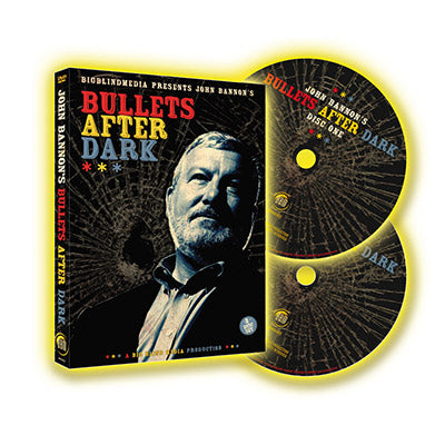 Bullets After Dark - 2 DVD Set by John Bannon! - Kaymar Magic