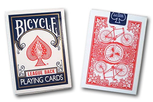 Bicycle League Back Playing Cards - USPCC - Kaymar Magic