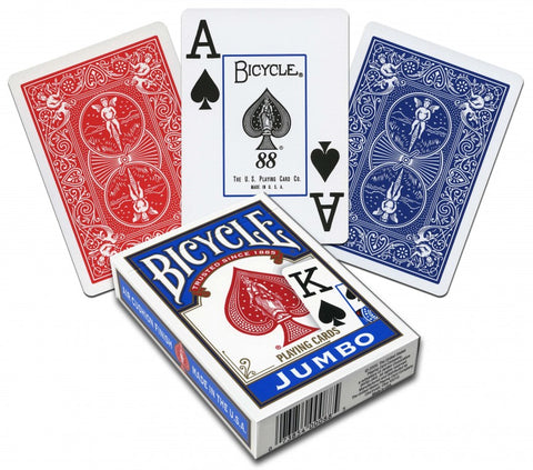 Bicycle Jumbo Index Playing Cards - USPCC - Kaymar Magic