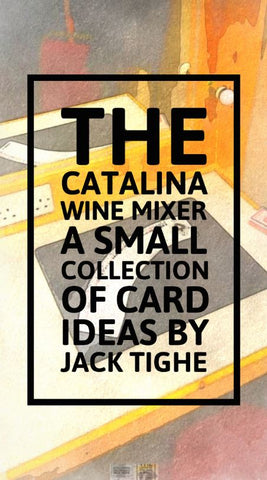 The Catalina Wine Mixer Book - Jack Tighe - Kaymar Magic