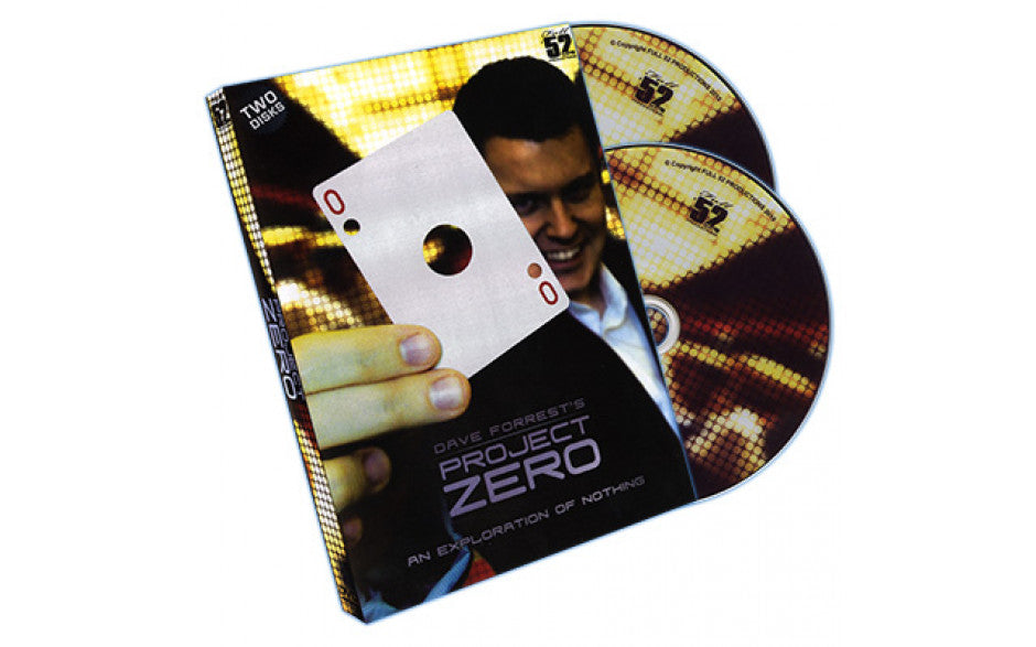 Project Zero by Dave Forrest 2 DVD Set! - Kaymar Magic