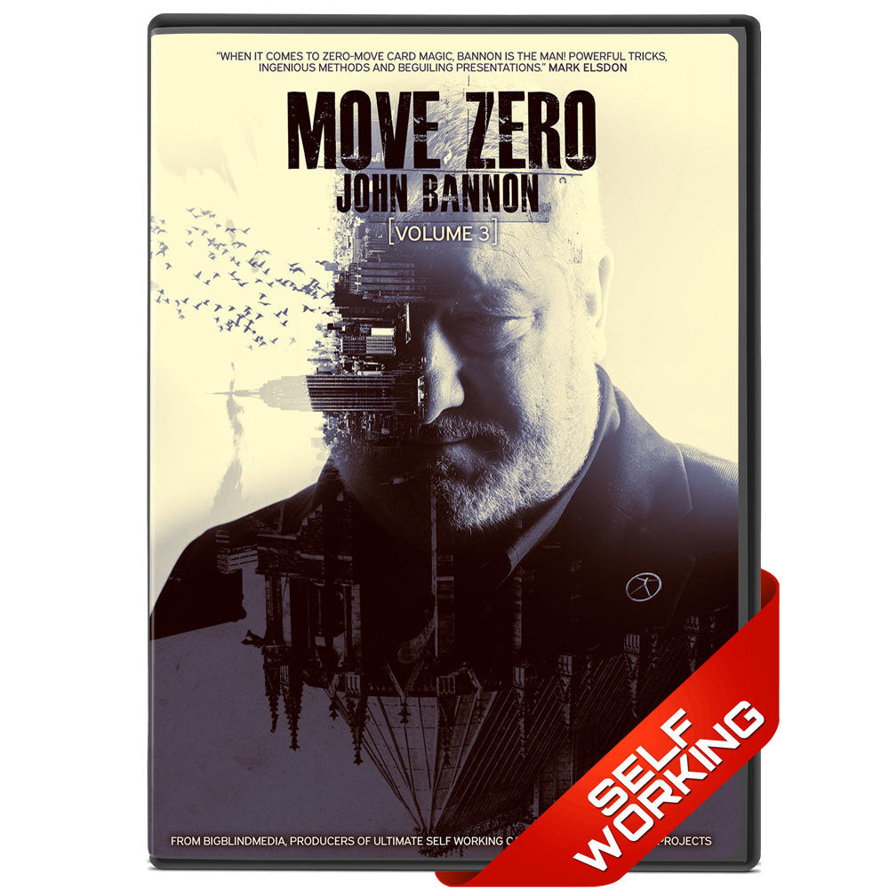Move Zero Volume 3 - DVD by John Bannon - Kaymar Magic