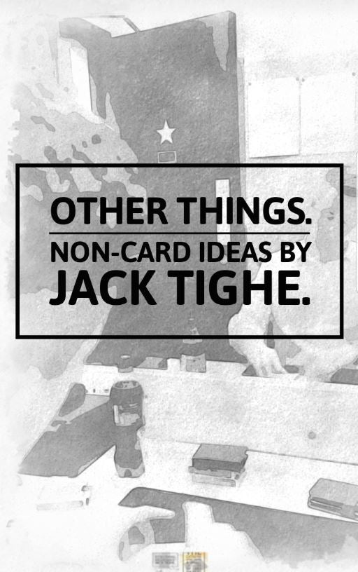 Other Things Book by Jack Tighe - Kaymar Magic