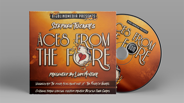 Aces From The Fore by Stephen Tucker - Kaymar Magic