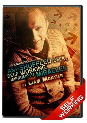 Any Shuffled Deck, Self Working, Impromptu Miracles DVD by Liam Montier