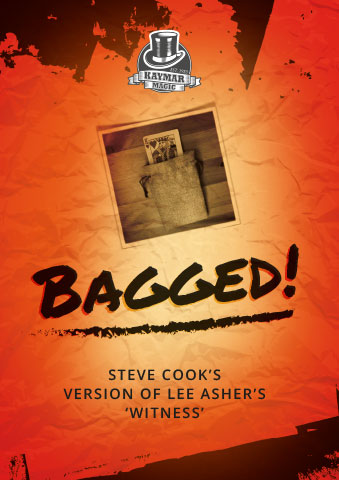 'BAGGED' by Steve Cook - KAYMAR EXCLUSIVE! - Kaymar Magic