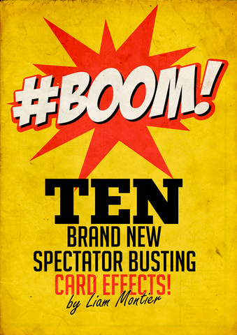 #Boom! By Liam Montier (e-book) - Kaymar Magic
