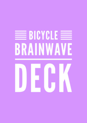 Brainwave Deck - Bicycle Stock