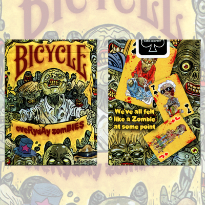 Bicycle Zombie Deck - Kaymar Magic