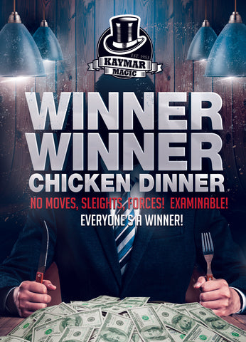 WINNER WINNER (CHICKEN DINNER!) By Liam Montier