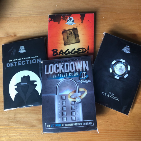 The STEVE COOK LOCKDOWN BUNDLE!  ONLY FOUR SETS!