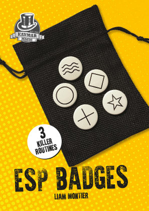 ESP Badges by Liam Montier - Kaymar Magic Exclusive! - Kaymar Magic