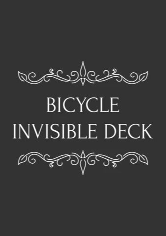 The Invisible Deck - Bicycle Stock
