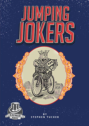 Jumping Jokers by Stephen Tucker - KAYMAR EXCLUSIVE! - Kaymar Magic