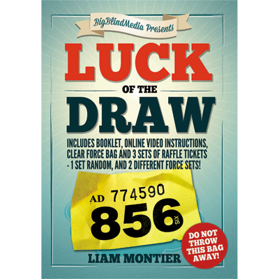Luck of the Draw by Liam Montier - Kaymar Magic