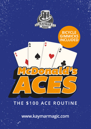 McDonalds Aces - $100 Ace Routine - Kaymar Magic