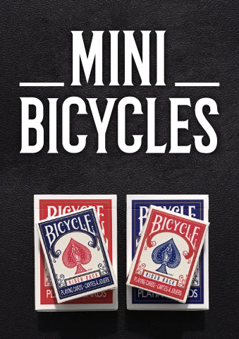 Mini Bicycle Card Decks - Blue and Red