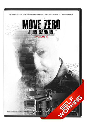 Move Zero Vol. 1 DVD by John Bannon - Kaymar Magic