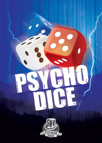 Psycho Dice by Steve Cook - Kaymar Exclusive - Kaymar Magic