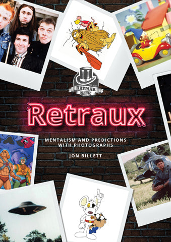 Retraux by Jon Billett - Mentalism with TV shows! - Kaymar Magic