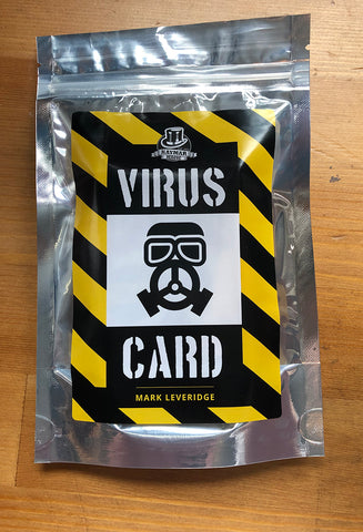The Virus Card by Mark Leveridge - KAYMAR EXCLUSIVE! - Kaymar Magic