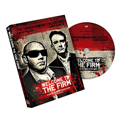 Welcome to the Firm Magic DVD by BigBlindMedia, Jamie Badman and Colin Miller - Kaymar Magic
