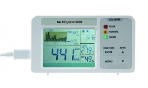 AirControl 5000 CO2 monitor with data logger