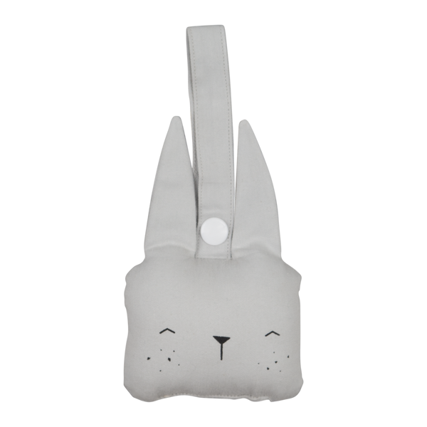 Fabelab babyrangle bunny icey grey.