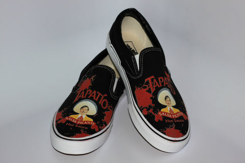 Tapatio Splatter Slip On Shoes