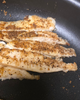 Tilapia Being Cooked