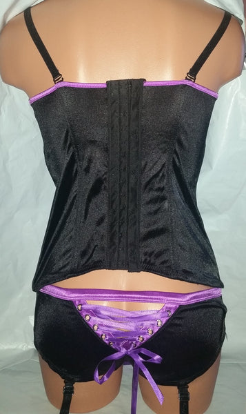 Sexy ***Playboy Brand*** Assorted Corsets + Panties
