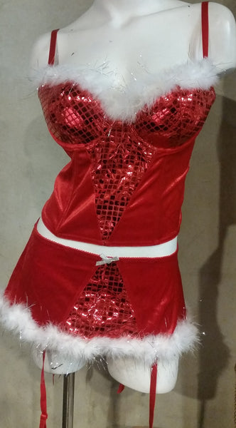 Sexy Adult Santa's Helper Holiday Outfits - Assorted