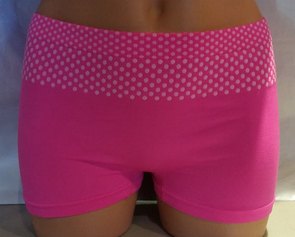 Womens Boyleg Underwear with Cinch Waistband