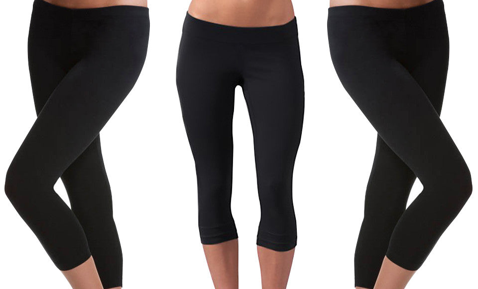 LEGGINGS Wholesale Seamless Capri LEGGINGS - pack of 24