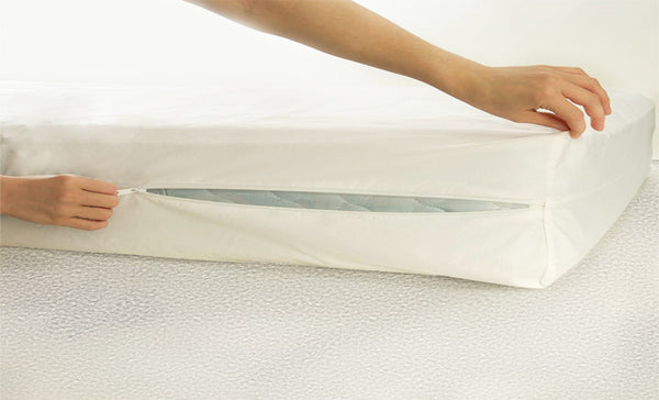 Bedbug Mattress Protector Zipper-Velcro Encasement
