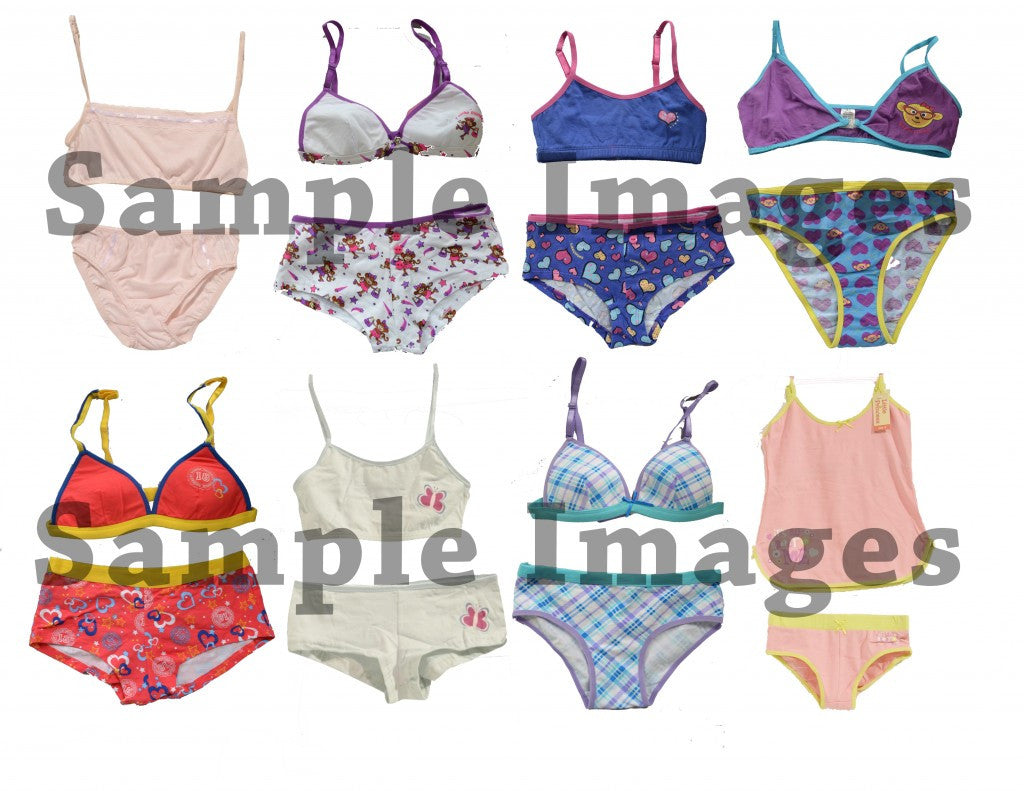 Kids Wholesale Kids UNDERWEAR Sets 60 Assorted Pieces